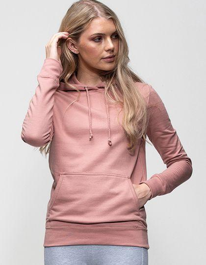 Girlie College Hoodie Dusty Pink