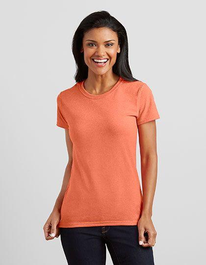 Mediatrix Gildan Damen Baumwoll T-Shirt