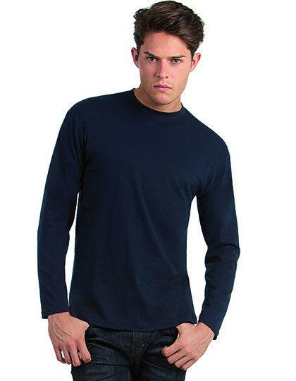 Mediatrix Herren Langarm T-Shirt