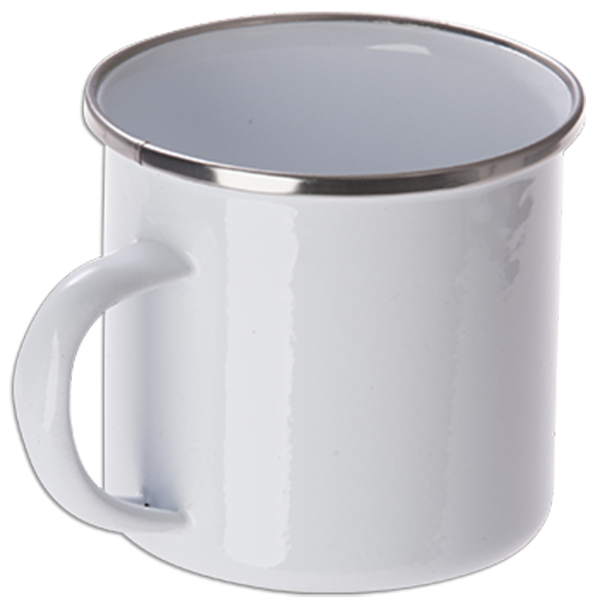 Metall Tasse Emaille