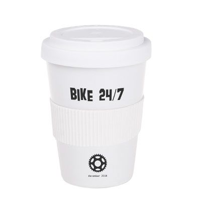 Porzellanbecher KAFFEE TO GO