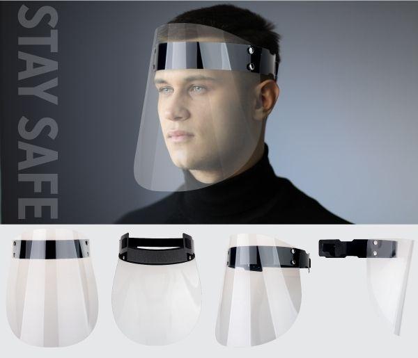 Gesichtsschutzschirm ab 500 Stück