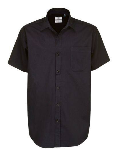 Mediatrix B&C Herren Kurzarm Twill Shirt