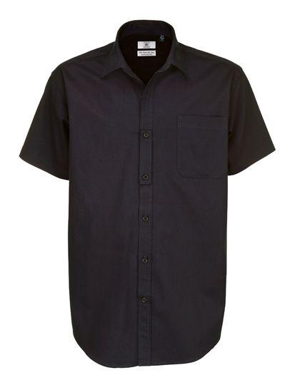 Mediatrix B&C Herren Kurzarm Twill Shirt