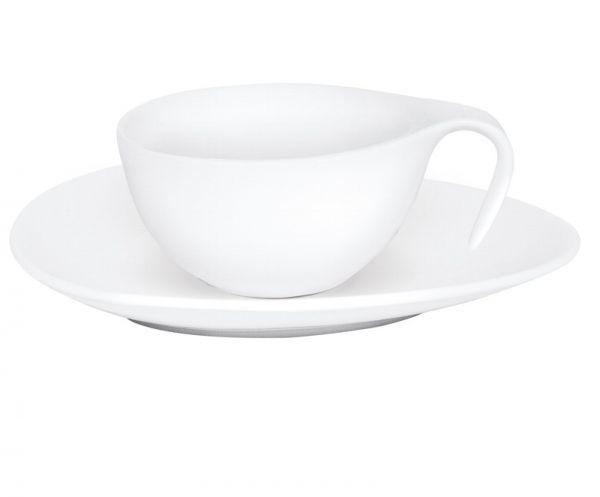 Tasse mit Untertasse SWAN